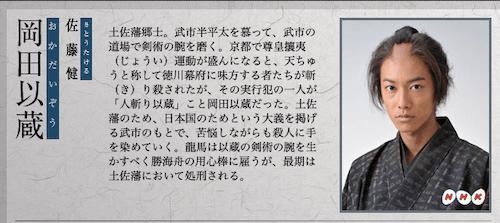 岡田以蔵の画像