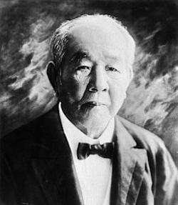 渋沢栄一の画像